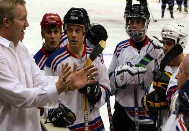 hockey coach feedback