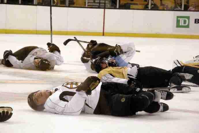 stress on the ice